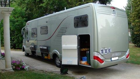 camping car integral hymer occasion location auto clermont. Black Bedroom Furniture Sets. Home Design Ideas