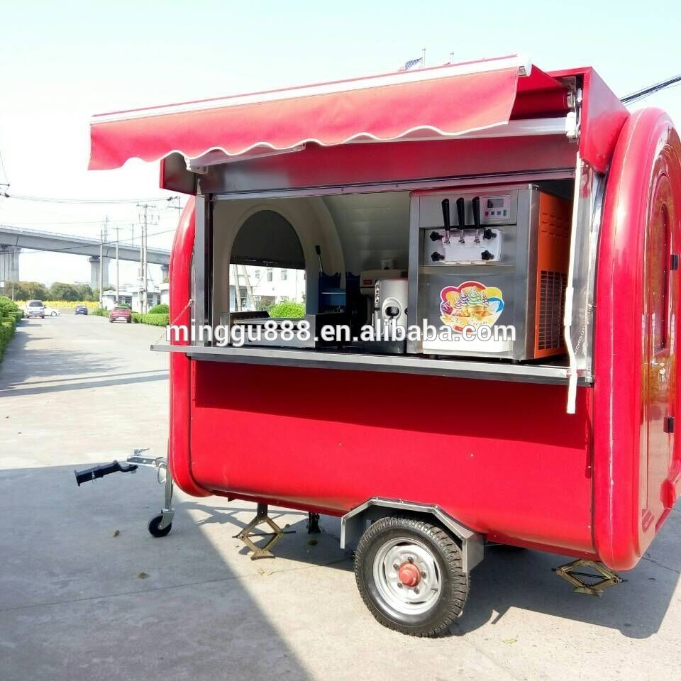 Remorque street food occasion location auto clermont for Remorque cuisine mobile