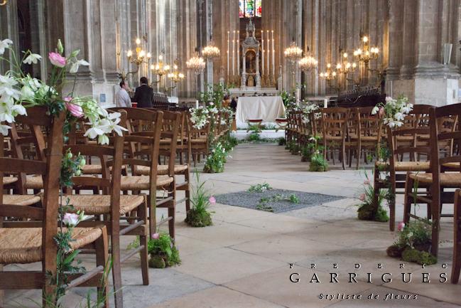 Mariage decoration eglise location auto clermont - Decoration eglise mariage ...