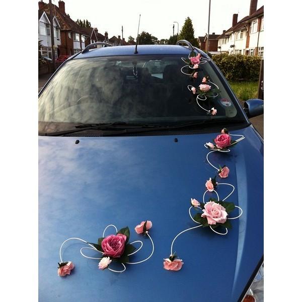 D co voiture mariage original - Decoration de voiture de mariage original ...