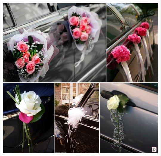 Favori Comment décorer sa voiture pour un mariage - location auto clermont TV16