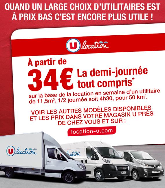 Location de camion hyper u location auto clermont - Location utilitaire perpignan ...