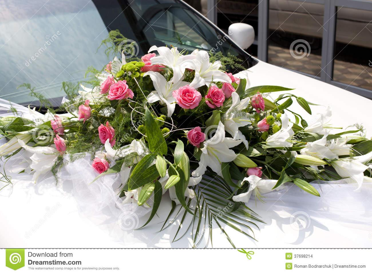 bouquet mariage voiture location auto clermont. Black Bedroom Furniture Sets. Home Design Ideas